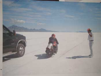 OMRA Land Speed Racing On the Salt in Bonneville.